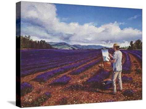 Painter, Vaucluse, Provence, 1998-Trevor Neal-Stretched Canvas Print