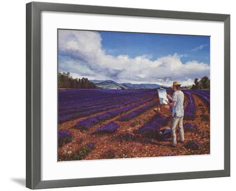 Painter, Vaucluse, Provence, 1998-Trevor Neal-Framed Art Print