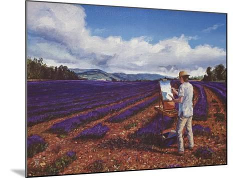 Painter, Vaucluse, Provence, 1998-Trevor Neal-Mounted Giclee Print