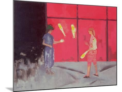 Jugglers at the Beaubourg, 1975-David Alan Redpath Michie-Mounted Giclee Print