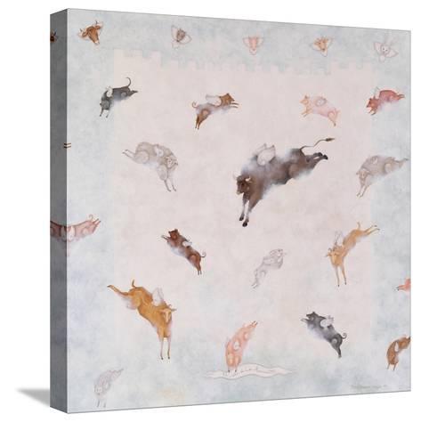 Animal Heaven, 1991-Mary Stuart-Stretched Canvas Print