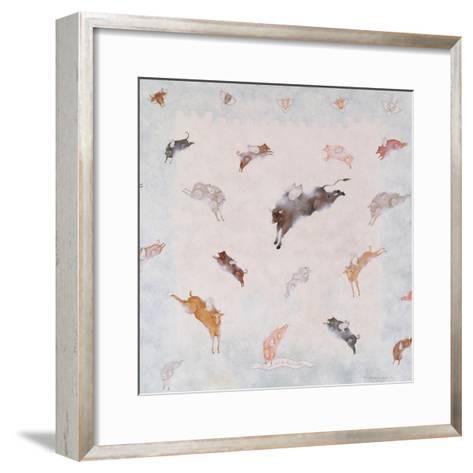 Animal Heaven, 1991-Mary Stuart-Framed Art Print