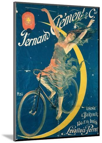 Poster Advertising 'Fernand Clement' Bicycles-Pal-Mounted Giclee Print