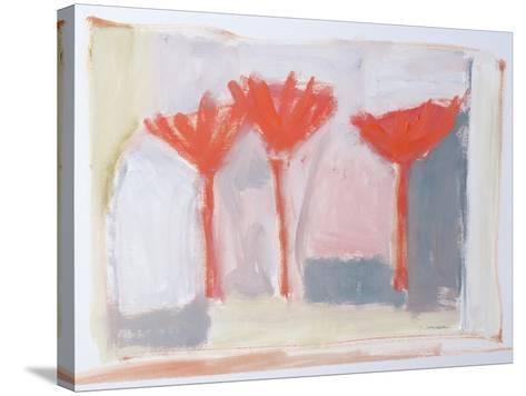 Red Trees, 2002-Sue Jamieson-Stretched Canvas Print