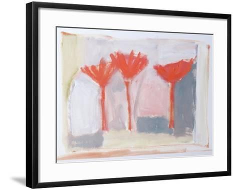 Red Trees, 2002-Sue Jamieson-Framed Art Print