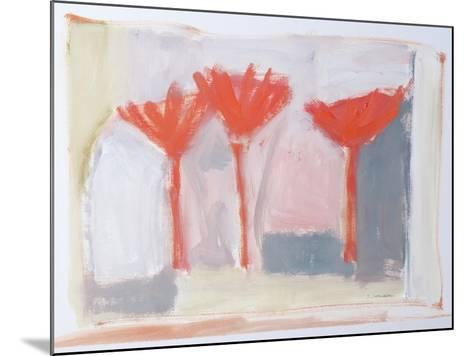 Red Trees, 2002-Sue Jamieson-Mounted Giclee Print