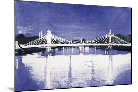 Albert Bridge (After Painting)-Isabel Hutchison-Mounted Giclee Print
