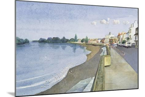 The Thames at Barnes-Isabel Hutchison-Mounted Giclee Print