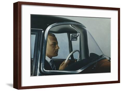 The Automatic-Robert Burkall Marsh-Framed Art Print