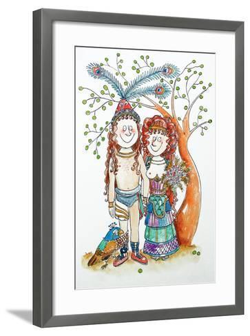 Wedding-Maylee Christie-Framed Art Print