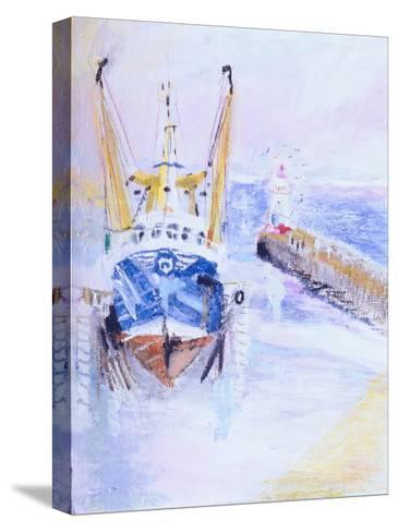 Newlyn, Cornwall, 2005-Sophia Elliot-Stretched Canvas Print
