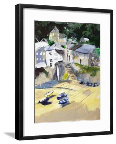 Mousehole, Cornwall, 2005-Sophia Elliot-Framed Art Print