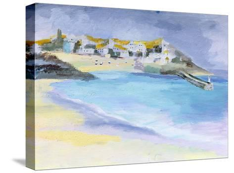 St. Ives, Cornwall, 2005-Sophia Elliot-Stretched Canvas Print
