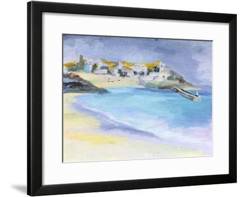 St. Ives, Cornwall, 2005-Sophia Elliot-Framed Art Print
