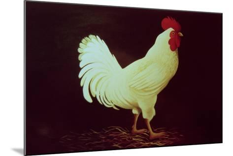 Rooster-Dory Coffee-Mounted Giclee Print