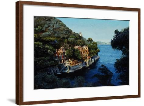 Villa, Portofino, from Hotel Picolo, Liguria, 1998-Trevor Neal-Framed Art Print