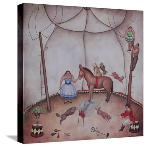 The Little Circus, 1980-Mary Stuart-Stretched Canvas Print