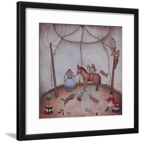 The Little Circus, 1980-Mary Stuart-Framed Art Print