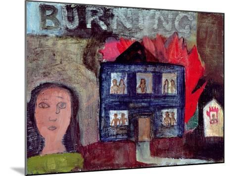 Lot's Wife Looks Back (Burning), 1991-Albert Herbert-Mounted Giclee Print