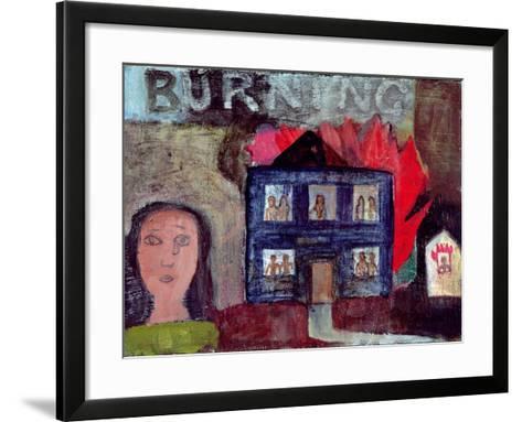 Lot's Wife Looks Back (Burning), 1991-Albert Herbert-Framed Art Print