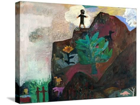 The Mountain, 1991-Albert Herbert-Stretched Canvas Print