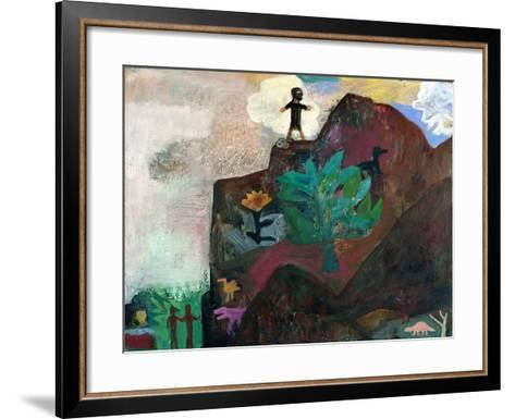The Mountain, 1991-Albert Herbert-Framed Art Print