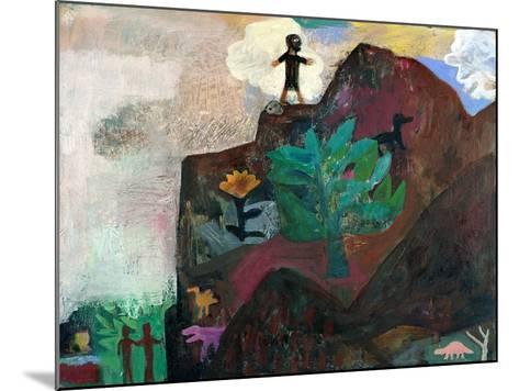The Mountain, 1991-Albert Herbert-Mounted Giclee Print