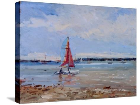 Catamaran, Brittany-Christopher Glanville-Stretched Canvas Print
