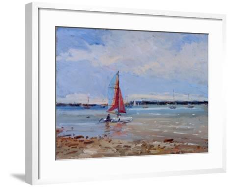 Catamaran, Brittany-Christopher Glanville-Framed Art Print