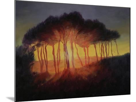 Wild Trees at Sunset, 2002-Antonia Myatt-Mounted Giclee Print