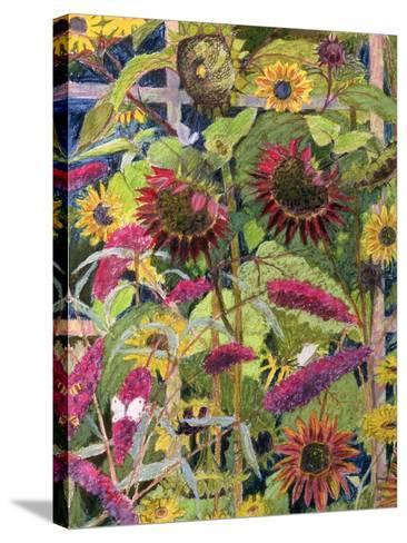 Flowers of the Sun-Rosalie Bullock-Stretched Canvas Print