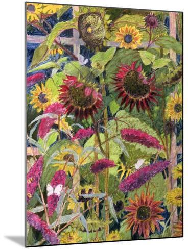 Flowers of the Sun-Rosalie Bullock-Mounted Giclee Print