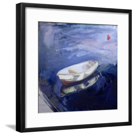 Boat and Buoy, 2003-Sue Jamieson-Framed Art Print