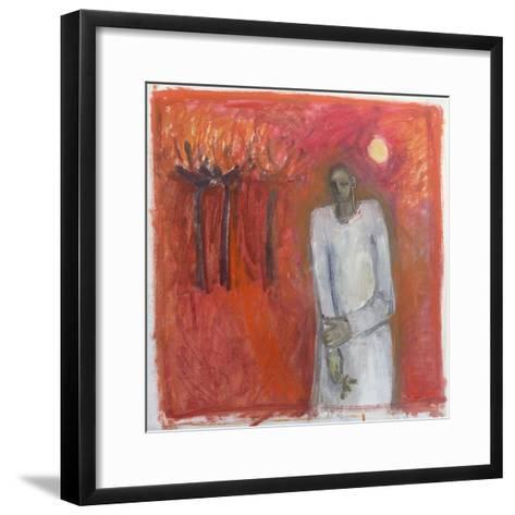 Peace Angel, 2002-Sue Jamieson-Framed Art Print