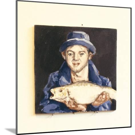 Fish-Boy-Robert Burkall Marsh-Mounted Giclee Print