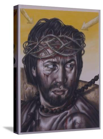 Study for Jesus Meets His Mother, 2004-Chris Gollon-Stretched Canvas Print
