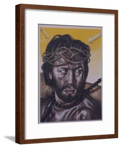 Study for Jesus Meets His Mother, 2004-Chris Gollon-Framed Art Print