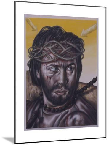 Study for Jesus Meets His Mother, 2004-Chris Gollon-Mounted Giclee Print
