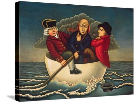 The Three Wise Men of Gotham, 2005-Frances Broomfield-Stretched Canvas Print