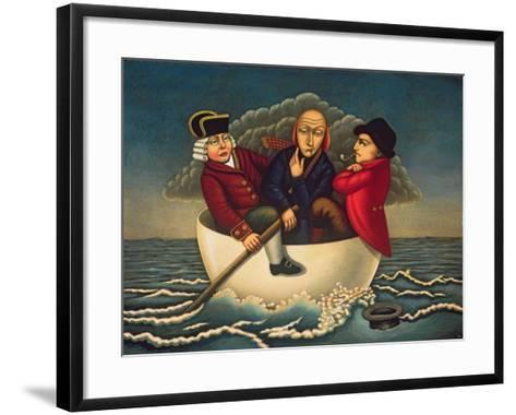 The Three Wise Men of Gotham, 2005-Frances Broomfield-Framed Art Print