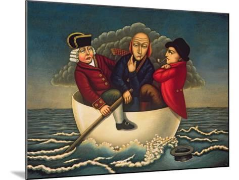 The Three Wise Men of Gotham, 2005-Frances Broomfield-Mounted Giclee Print