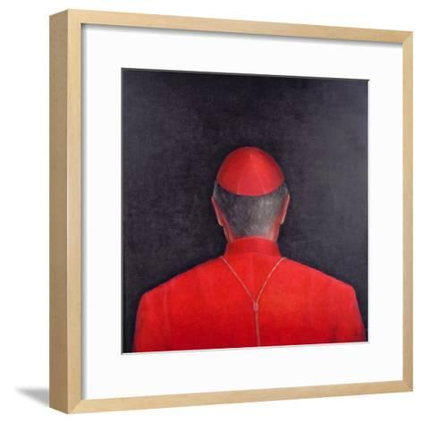 Cardinal, 2005-Lincoln Seligman-Framed Art Print