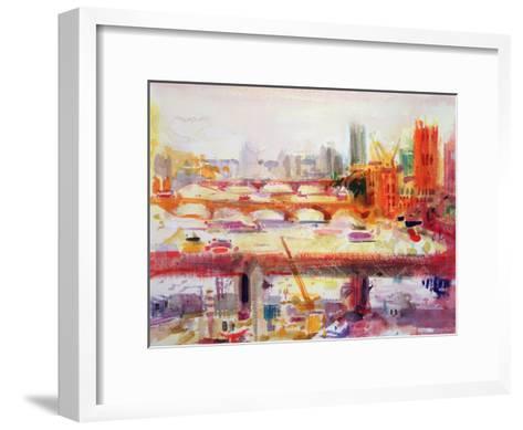 Monet's Muse, 2002-Peter Graham-Framed Art Print