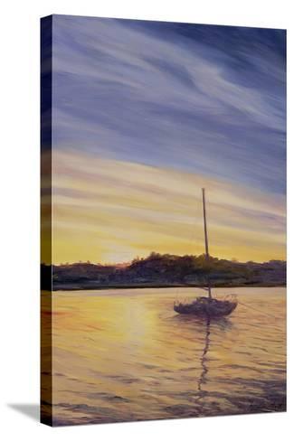 Boat at Rest, 2002-Antonia Myatt-Stretched Canvas Print