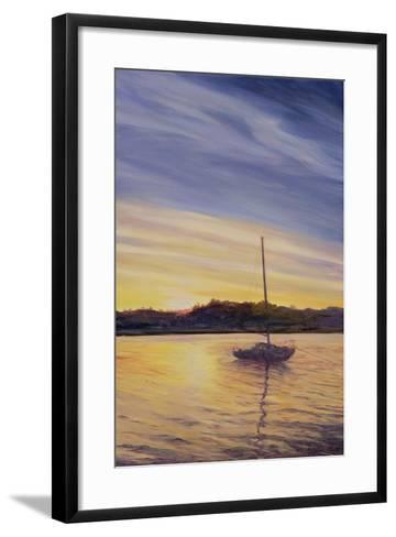 Boat at Rest, 2002-Antonia Myatt-Framed Art Print