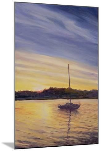 Boat at Rest, 2002-Antonia Myatt-Mounted Giclee Print