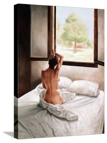 September Morning-John Worthington-Stretched Canvas Print