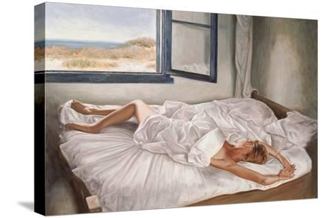 The Whispering Sea-John Worthington-Stretched Canvas Print