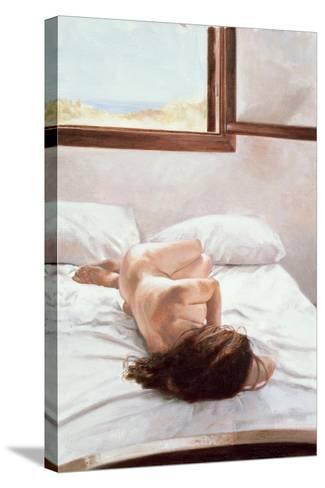 Sea Light on Your Body-John Worthington-Stretched Canvas Print
