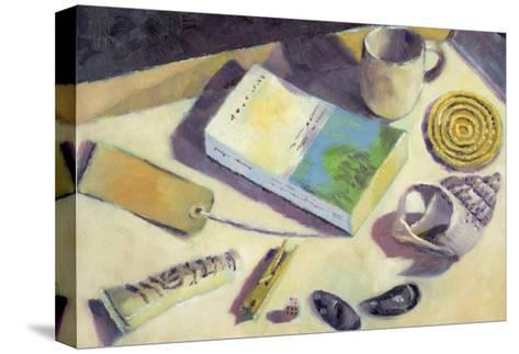 Holiday Reading-Sara Hayward-Stretched Canvas Print